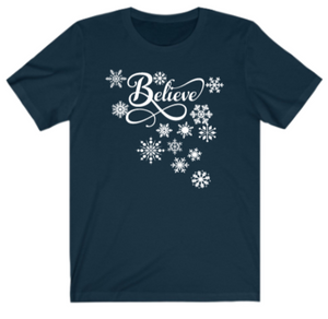 Christmas Believe T-shirt