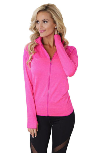 Rosy Athletic Running/Yoga Jacket - Alycia Mikay Fashion
