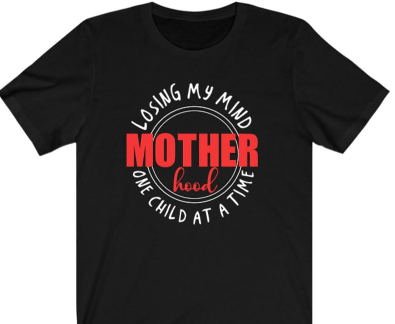 Motherhood  T-shirt - Alycia Mikay Fashion