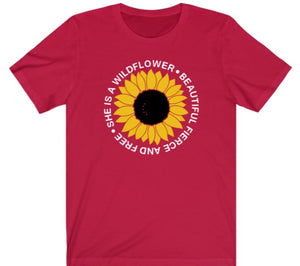 She's A Wildflower T-Shirt - Alycia Mikay Fashion