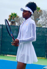 Load image into Gallery viewer, White 3-piece tennis outfit - Alycia Mikay Fashion