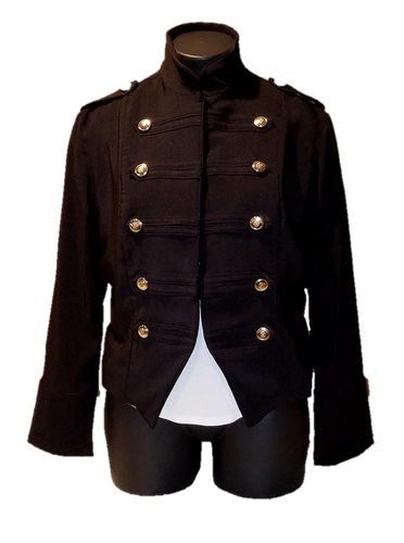 Military Jacket - Customizable - Alycia Mikay Fashion