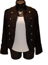 Load image into Gallery viewer, Military Jacket - Customizable - Alycia Mikay Fashion