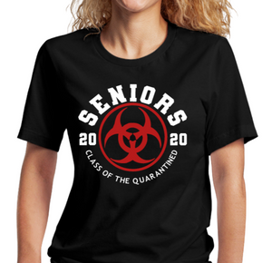 Seniors T-Shirt:  2020 Class of the Quarantined - Alycia Mikay Fashion