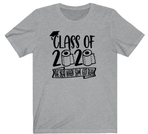 Seniors T-Shirt:  Funny Class of 2020 Tee - Alycia Mikay Fashion