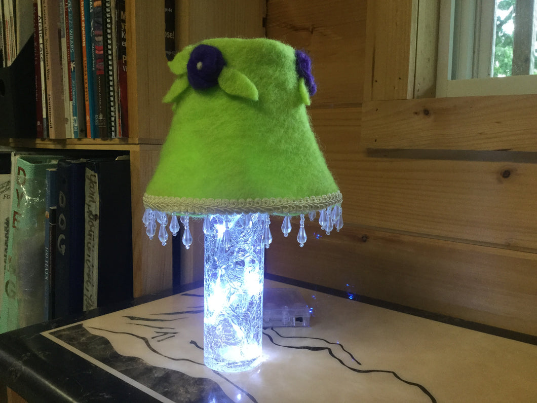 Mini Green Lamp