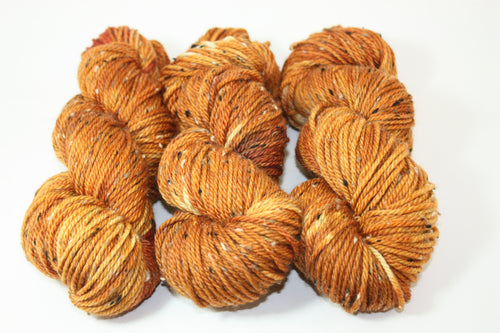 Golden Donegal Aran Tweed