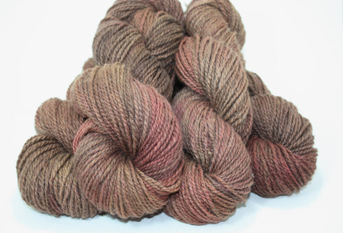 Chocolate & Wine - Alpaca, Merino & Silk Yarn