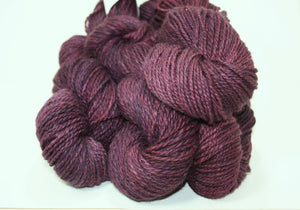 Black Raspberry - Alpaca, Merino & Silk Yarn
