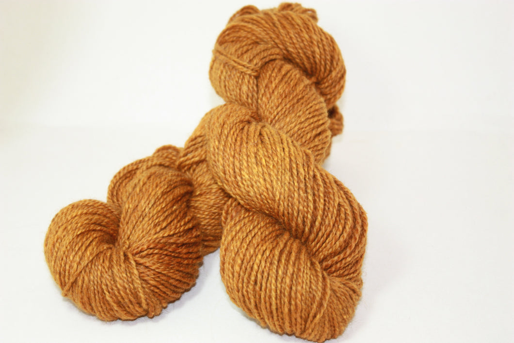 Gold Blush - Alpaca, Merino & Silk Yarn