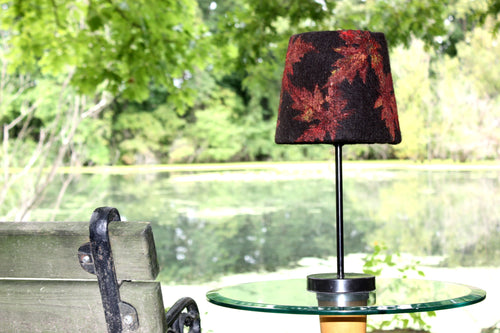 Autumn Leaves Felt Lamp