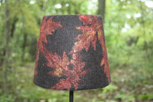 Load image into Gallery viewer, Autumn Leaves Felt Lamp
