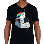 Men's V-neck BART Pride T-Shirt