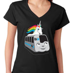 Women's V-neck BART Pride T-Shirt