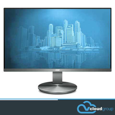 "AOC 23.8"" IPS 5ms Full HD Frameless Business Monitor"
