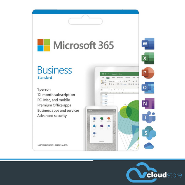Microsoft 365 Business Standard Subscription (Renewed annually)