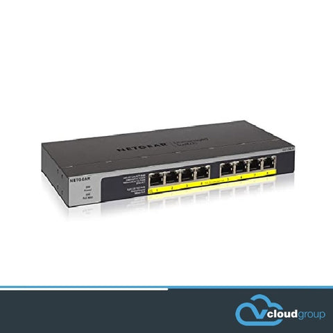NETGEAR 8-Port PoE/PoE+ Gigabit Ethernet Switch