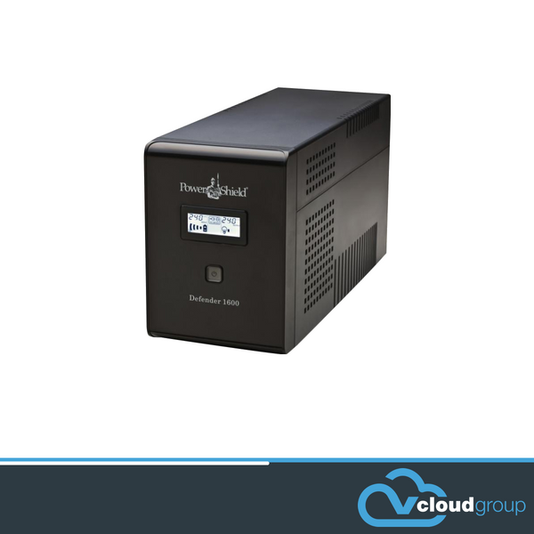PowerShield Defender 1600VA / 960W Line Interactive UPS with AVR