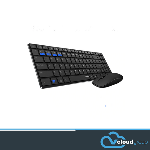 Rapoo 9300M - Multi-mode Wireless/Bluetooth Keyboard & Mouse