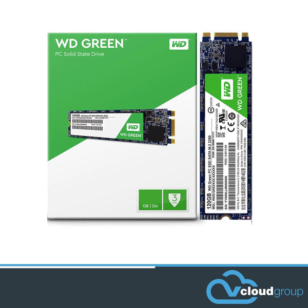 WD Green 3D NAND SSD, M.2 form factor