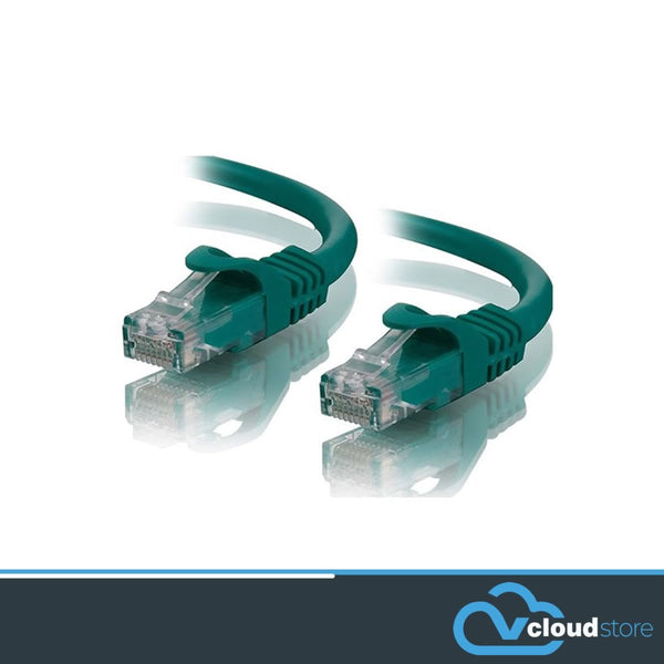 CAT6a UTP Snag-less Network/Patch Cable (Green)