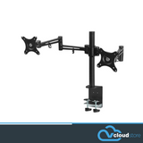 Dual HD LED Desk Mount Monitor Stand