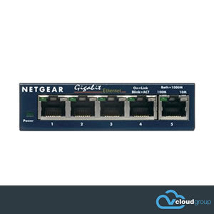 Netgear GS105 5 Port Gigabit Network Switch