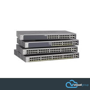Netgear S3300-28X 24 Port Stackable Smart Network Switch with 4x 10G Ports