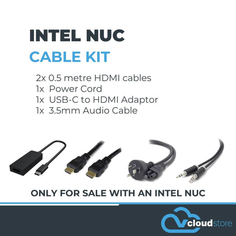 Intel NUC - 10th Generation Cable Kit