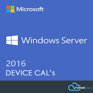 WINDOWS SERVER 2016<br>DEVICE CAL's