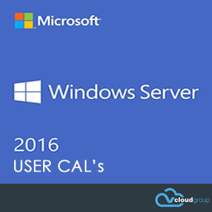 WINDOWS SERVER 2016<br>USER CAL's