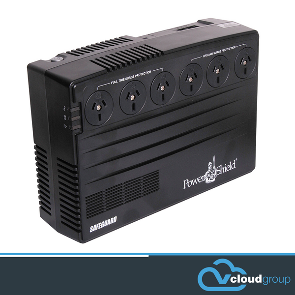 PowerShield SafeGuard 750VA/450W Line Interactive, Powerboard Style UPS with AVR