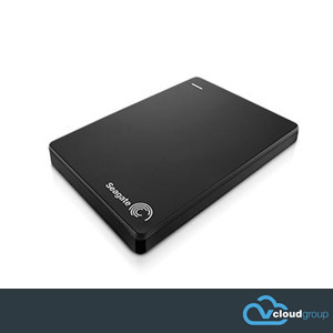 "Seagate 1Tb Backup Slim Plus Portable 2.5"" Hard Drive (Black)"