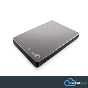 "Seagate 1Tb Backup Slim Plus Portable 2.5"" Hard Drive (Silver)"