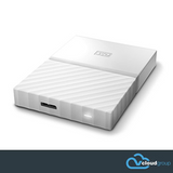 Western Digital My Passport 1TB Portable Hard Drive (White)