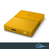 Western Digital My Passport 1TB Portable Hard Drive (Yellow)