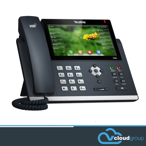 "Yealink T48S 16 Line IP phone, 7""colour touch screen,HD voice, BT40/WF40/Recording"