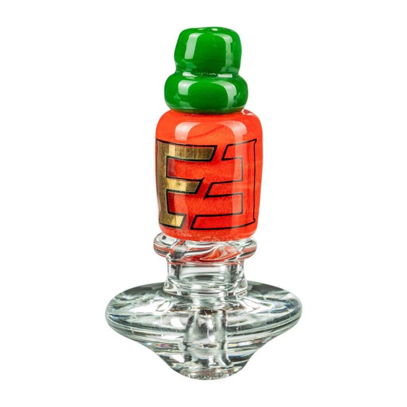 Sriracha Themed Carb Cap for Puffco Peak by Empire