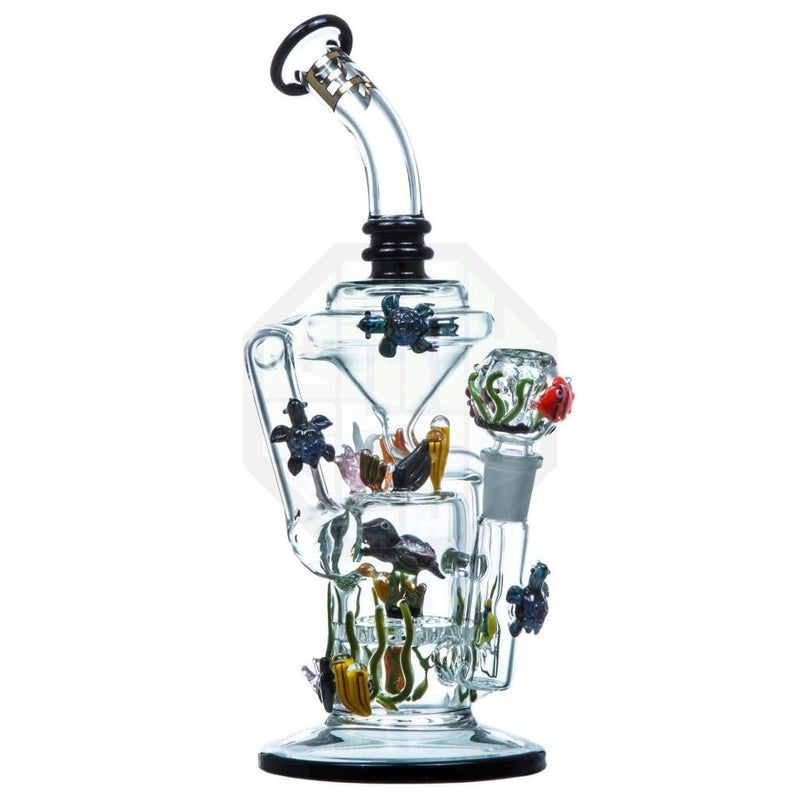 California Current Recycler by Empire Glassworks - Dab Rigs