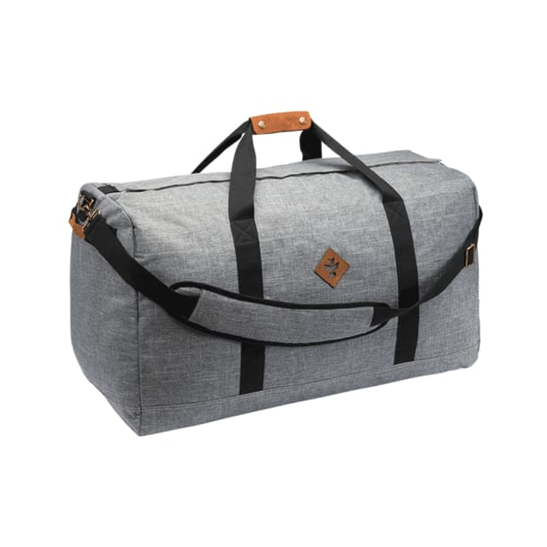 Continental Duffle Bag by Revelry - Crosshatch Grey -