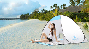 Beach Tent Pop Up Open Camping Tent Fishing Hiking