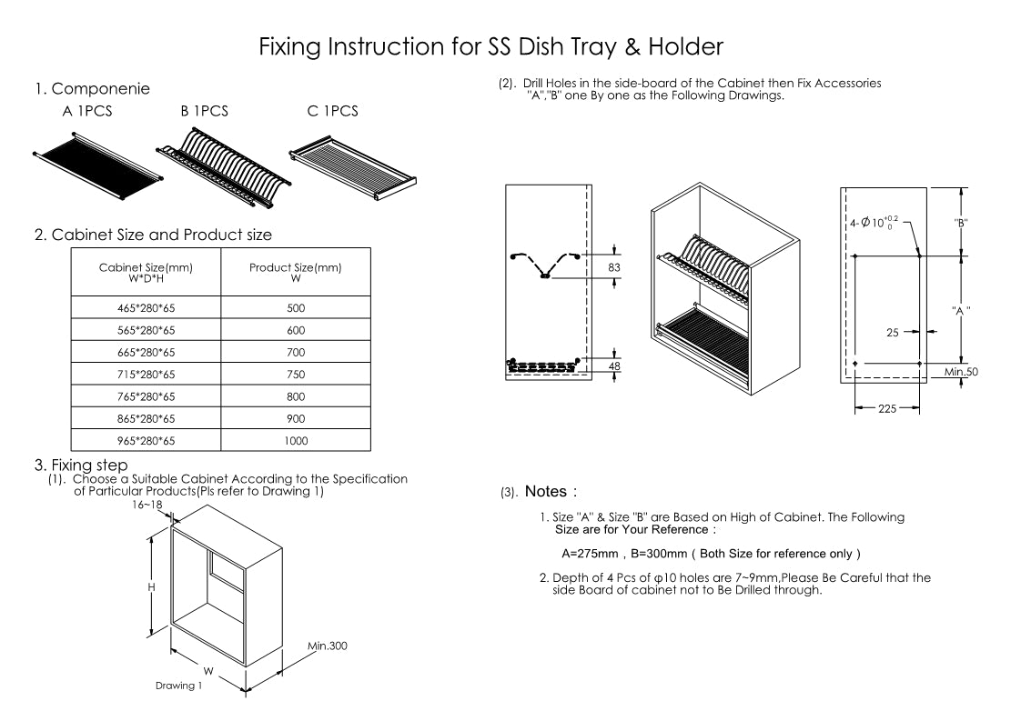 Plate Holder & Drying Rack installation tutorial - Vadania.shop