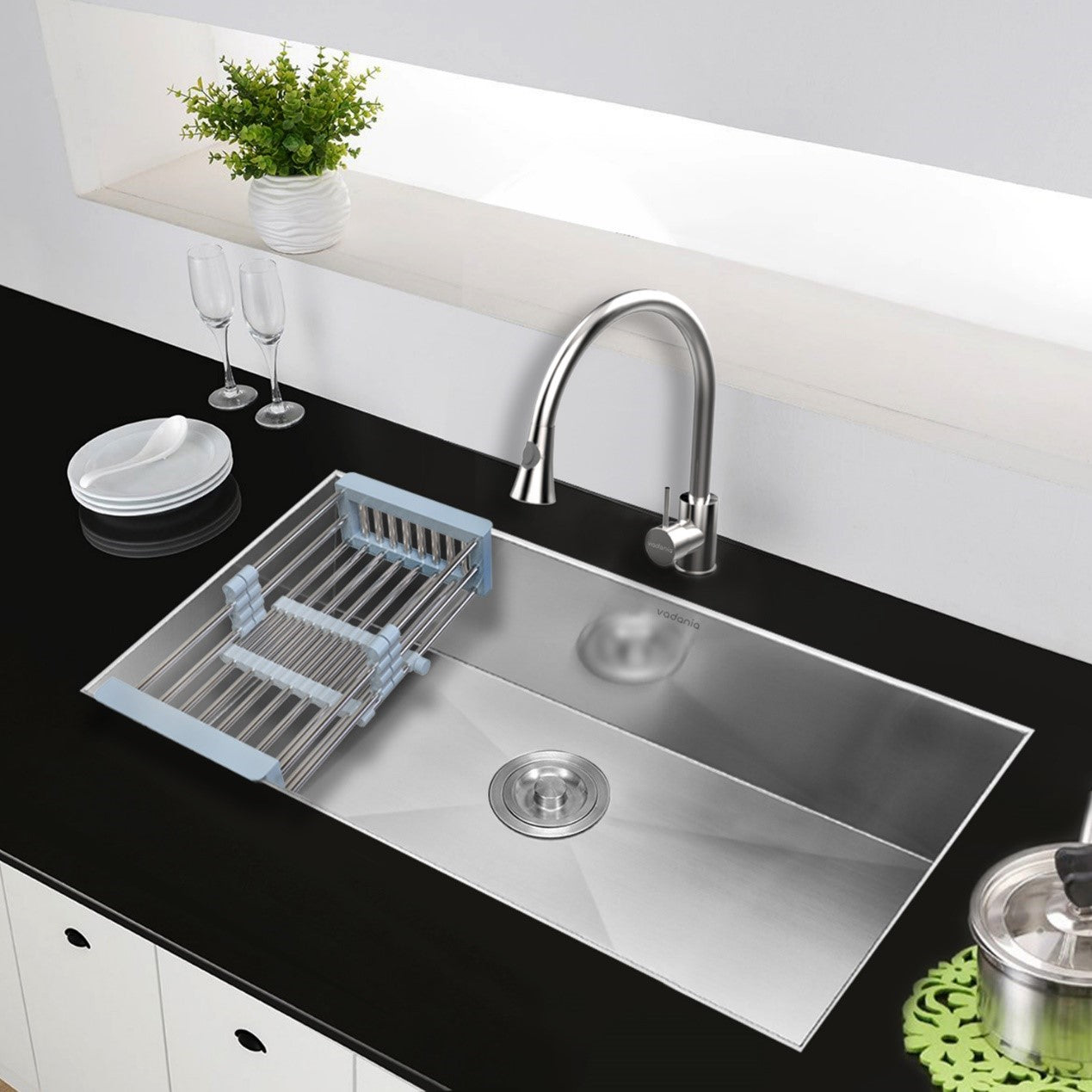 How to select a good sink?(1) -  Sink material | VADANIA kitchen sink