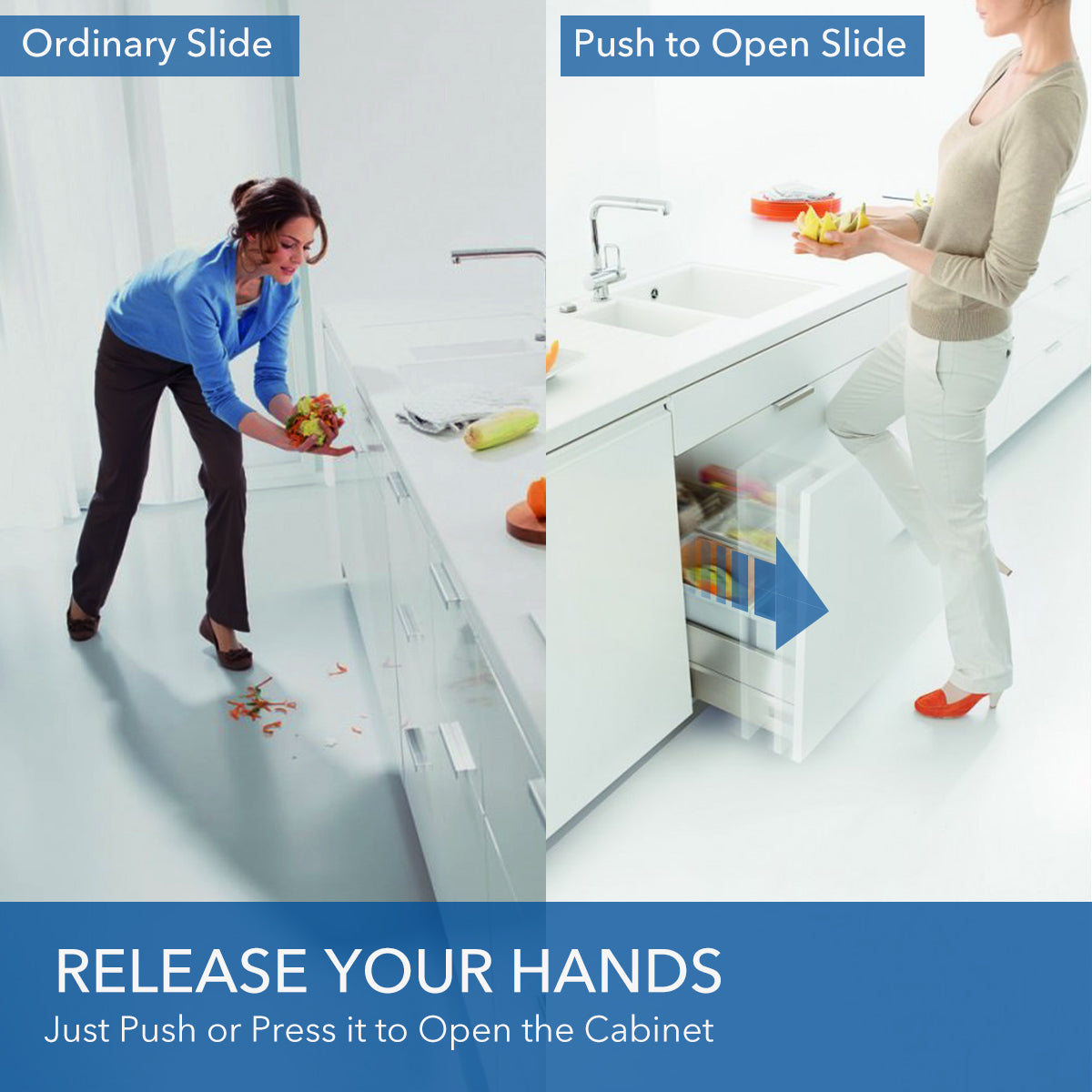How to make a better use of your kitchen cabinet? | VADANIA