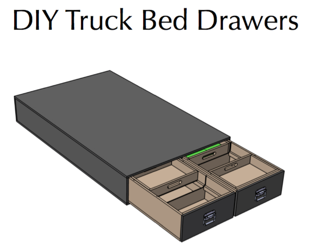 How to install drawer bed in your truck | VADANIA