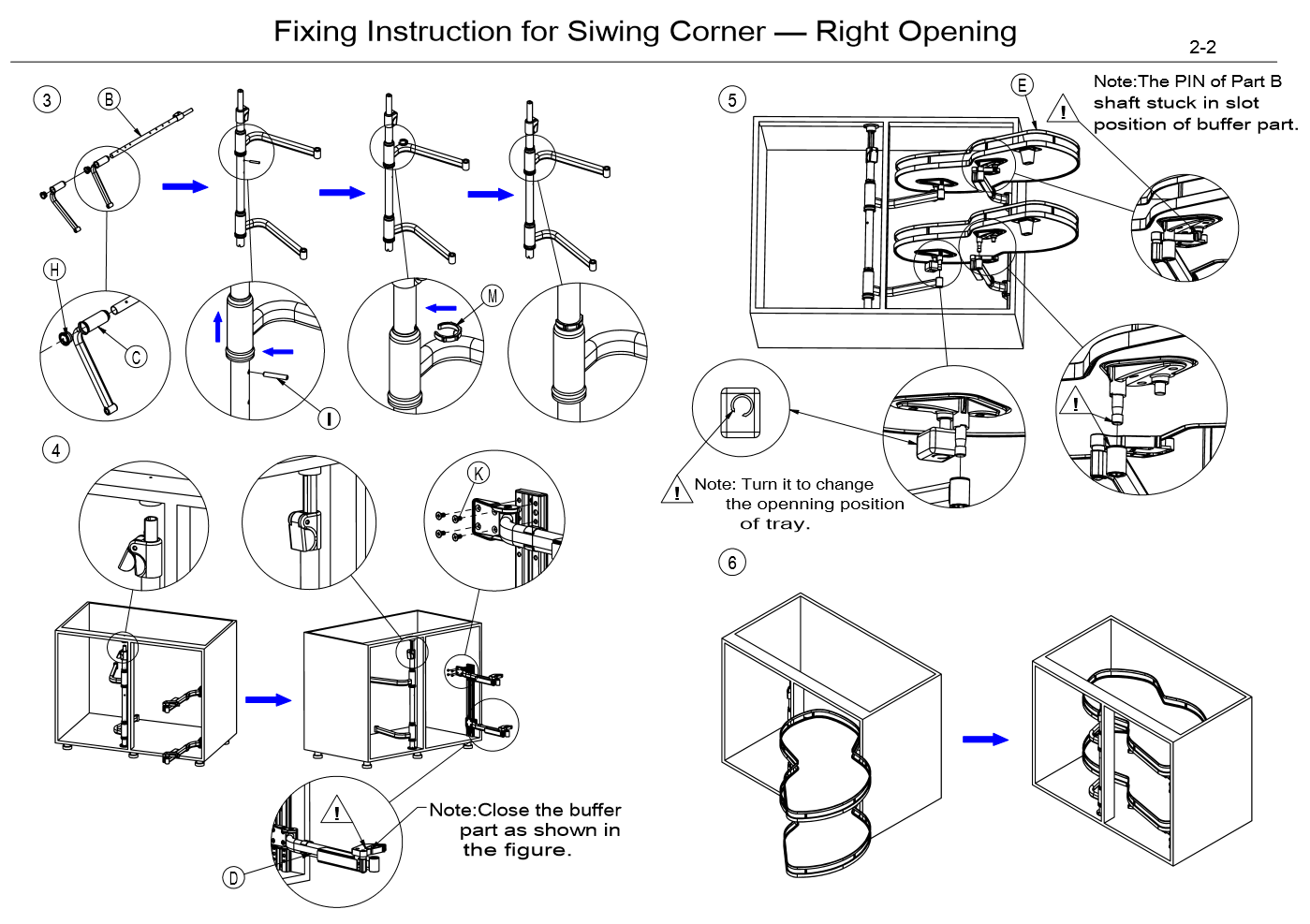 swing tray kitchen cabinet organizer installation
