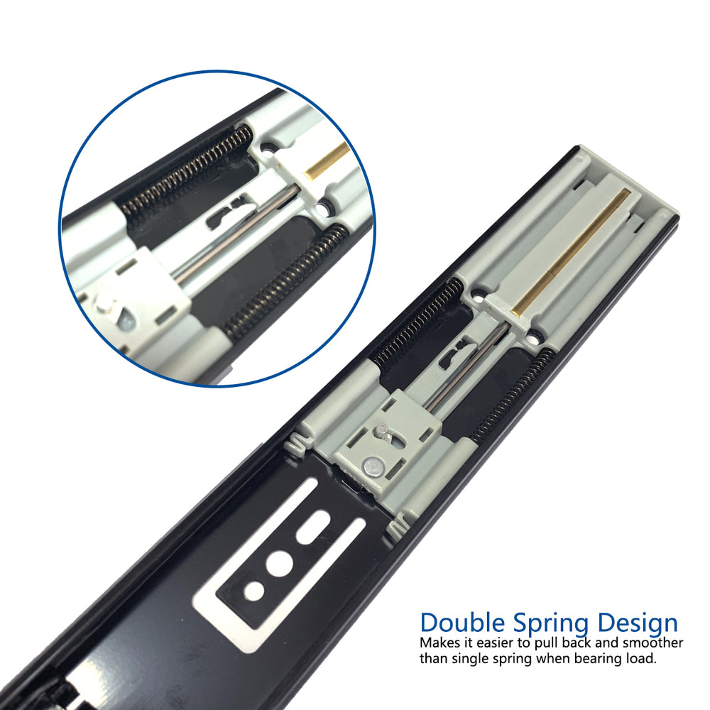 Soft Close Drawer Slides K1245, 1-Pair US|CA|UK - Home Upgrader | Vadania