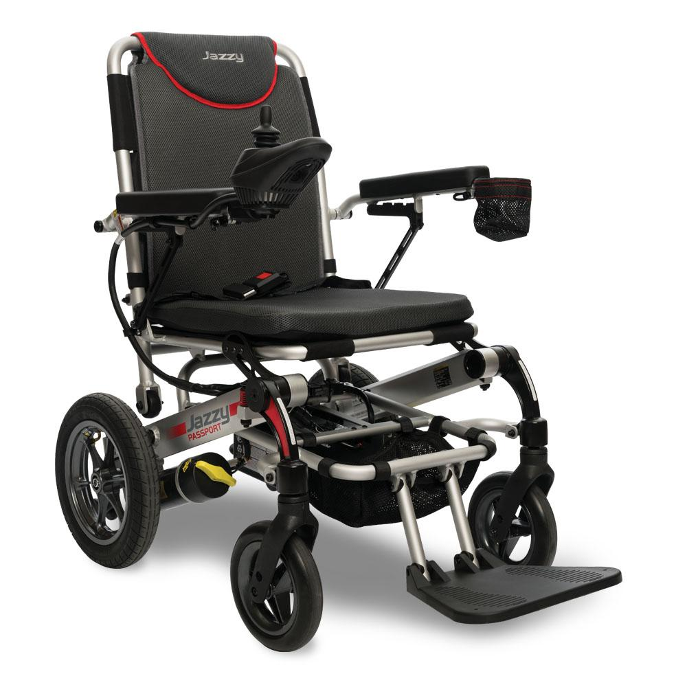 Compare Travel Buggy Powered Wheelchair to Jazzy Passport