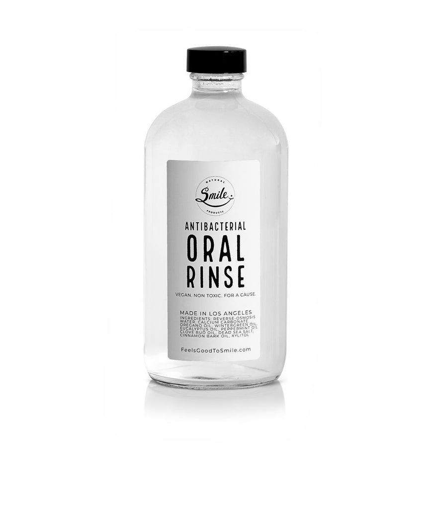 Antibacterial Oral Rinse Smile Natural Products