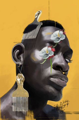 Art by Samuel Blankson | Black!